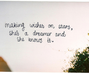 wish, quote, and dreamer image