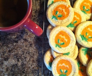 Halloween, autumn, and Cookies image