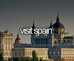 spain travel want visit image