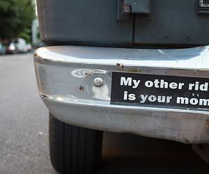 funny, car, and mom image