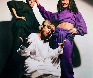 tlc, left eye, and t-boz image