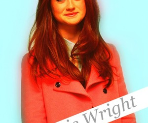 bonnie wright, redhead, and ginger image