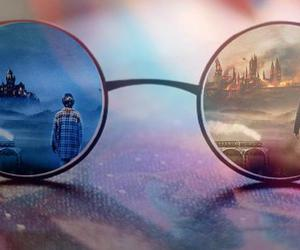 glasses, harry potter, and help image