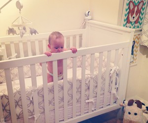 baby, baby room, and love image