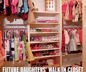 future, daughter, and closet image
