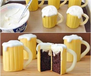 beer, cake, and diy image