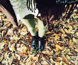 automn, fashion, and forest image
