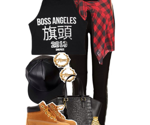 checkered, dope, and cute outfits image