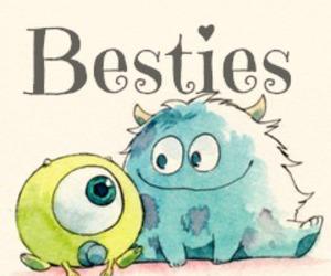 adorable, besties, and sweet image