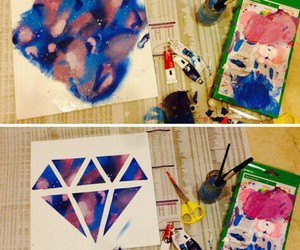cool, diy, and diamond image