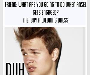 cute and ansel elgort image