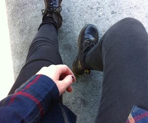 grunge, black, and dr martens image