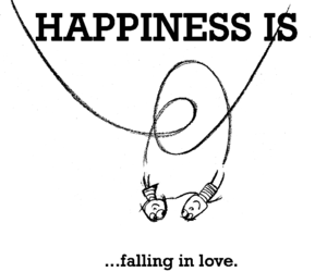 love, happiness, and falling in love image