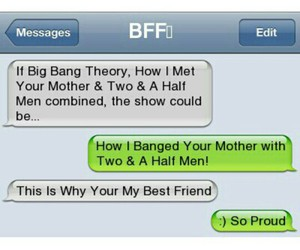 funny, bff, and how i met your mother image