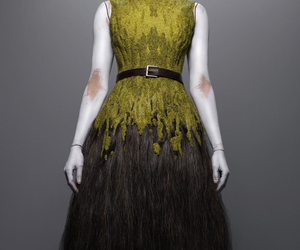 Alexander McQueen and fashion. designs image