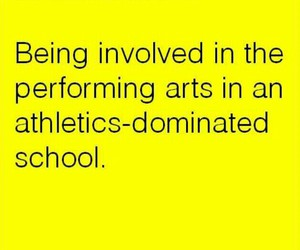 athletics, performing arts, and show choir image