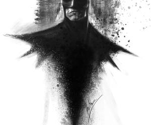 amazing, b&w, and batman image