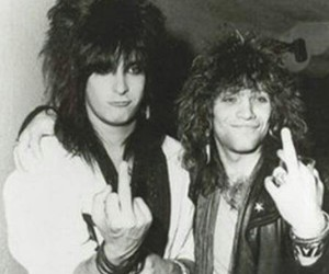 fuck you, bon jovi, and jon bon jovi image