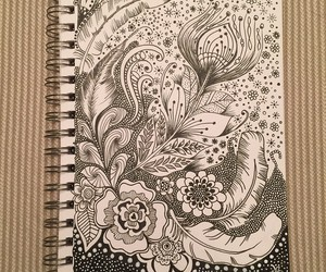 drawing, inspiration, and notebook image