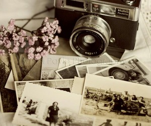 vintage, camera, and photo image