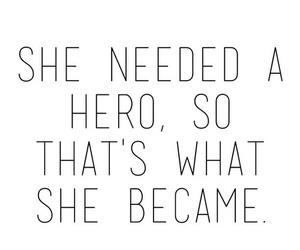 hero, quotes, and she image