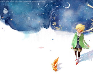 fox and little prince image