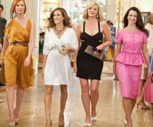 sex and the city, Carrie Bradshaw, and miranda image