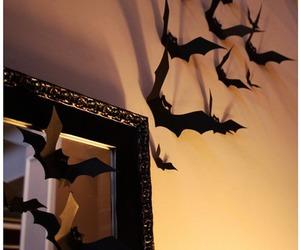Halloween, bat, and decoration image