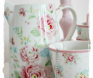 cottage, dishes, and cottage charm image