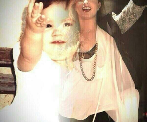 demi lovato, demi, and baby image