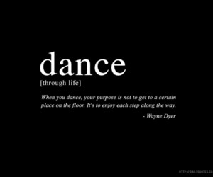 dance, quotes, and enjoy image