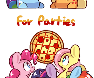 pizza, my little pony, and twilight sparkle image