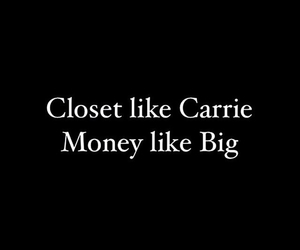 big, carrie, and closet image