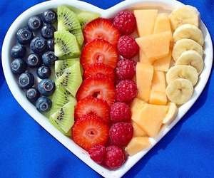 fruit, heart, and love image
