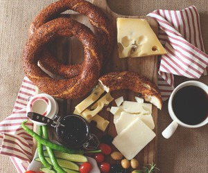 breakfast, food, and cheese image