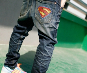 jeans and superman image
