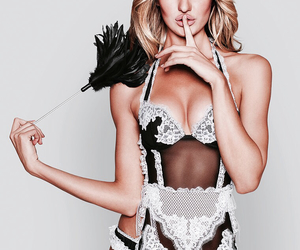 beautiful, bombshell, and lingerie image