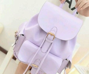 purple, bag, and backpack image