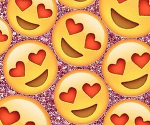 emoji, love, and heart image