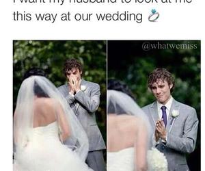 love, wedding, and husband image