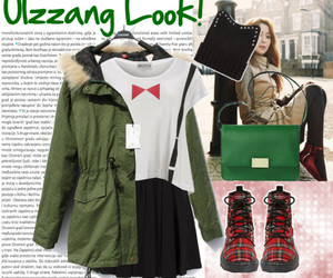 green, look, and plaid image