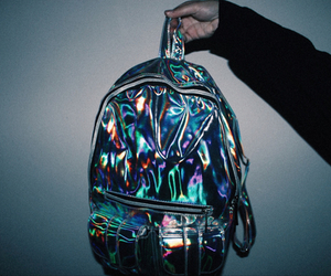 grunge, bag, and backpack image