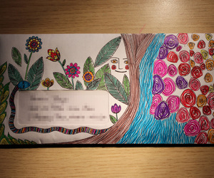 colours, envelope, and lines image