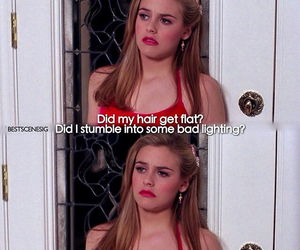 Clueless, alicia silverstone, and funny image