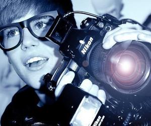 justin bieber, camera, and justin image