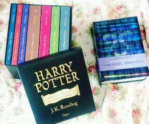 book, harrypotter, and livro image