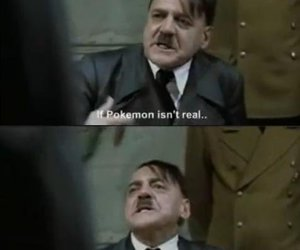 hitler, lol, and pokemon image