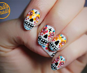Halloween and nails image
