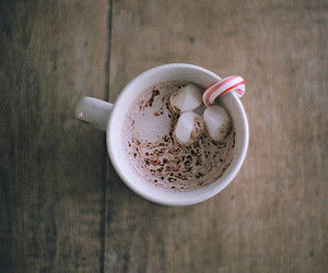 marshmallow, hot ​chocolate, and coffee image