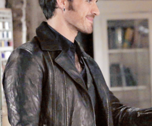 handsome, captain hook, and colin o'donoghue image